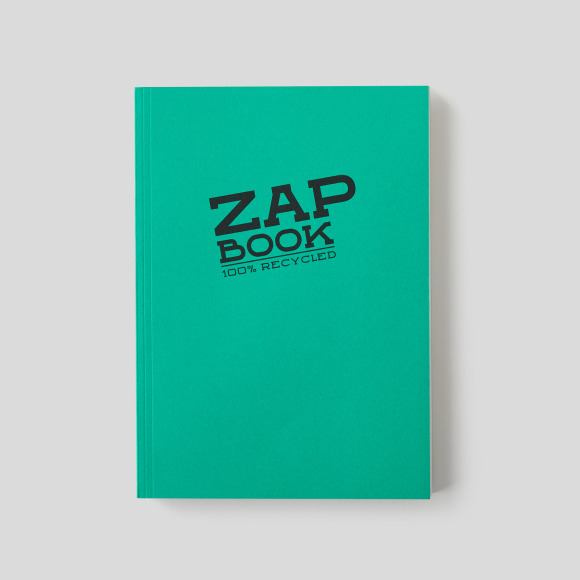 Zap book a4, 160 pages Clairefontaine