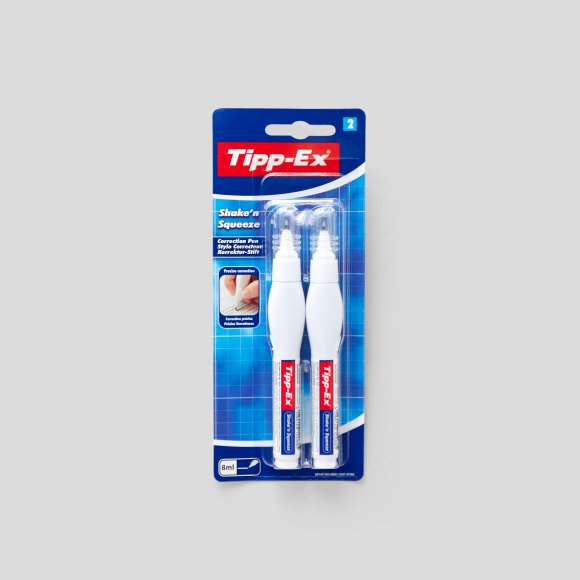 2 stylos correcteurs - shake'n squeeze Tipp Ex