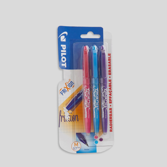 3 stylos rollers frixion ball Pilot