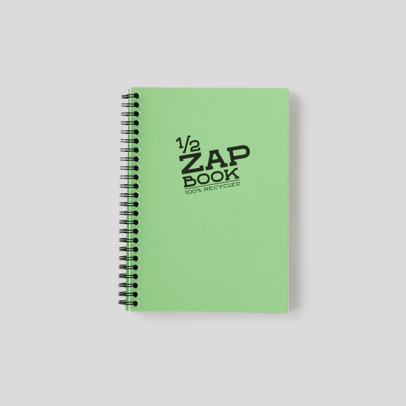 Zapbook spirales, format a5, 80 pages Clairefontaine