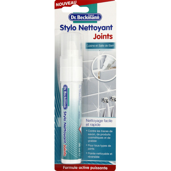 dr beckmann stylo nettoyant joints. Black Bedroom Furniture Sets. Home Design Ideas