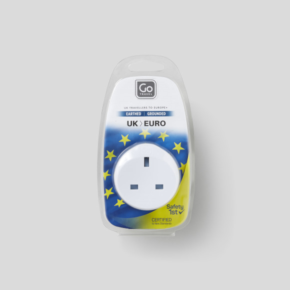 Adaptateur uk-eu Go Travel