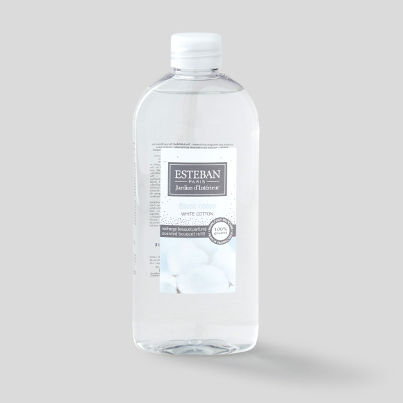 Recharge blanc coton 300ml Esteban