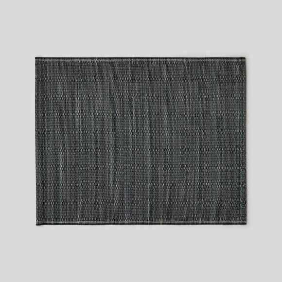 Set de table rectangulaire, 35x45cm, en bambou, noir Monoprix Maison