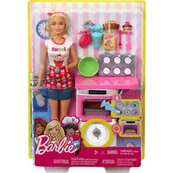 Barbie coffret pâtisserie Barbie