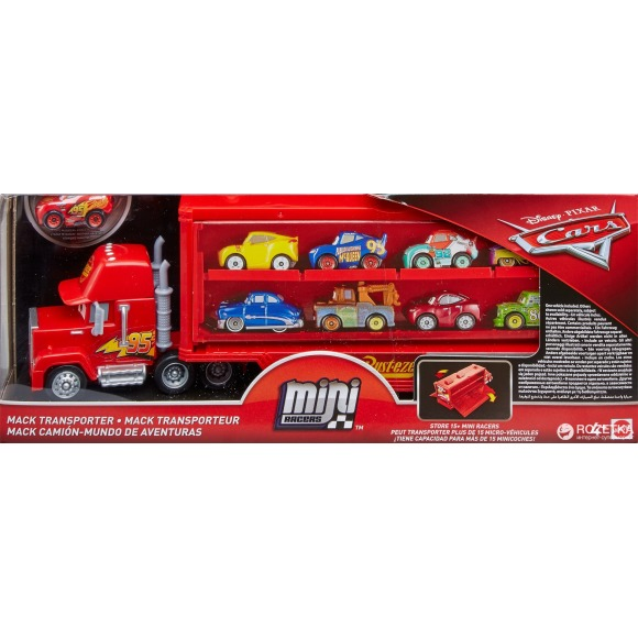 Mack transporter mini racer - cars Cars