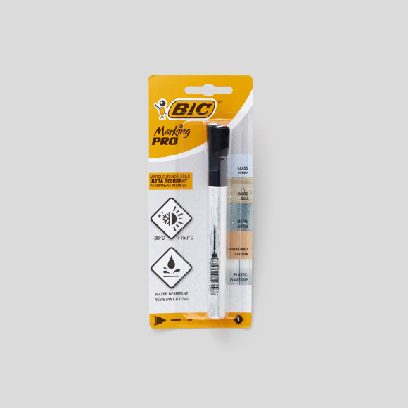 Marqueur permanent marking pro ogive Bic