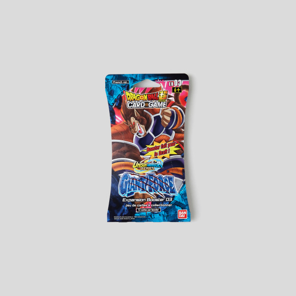 Booster 12 cartes dragon ball z Darpeje
