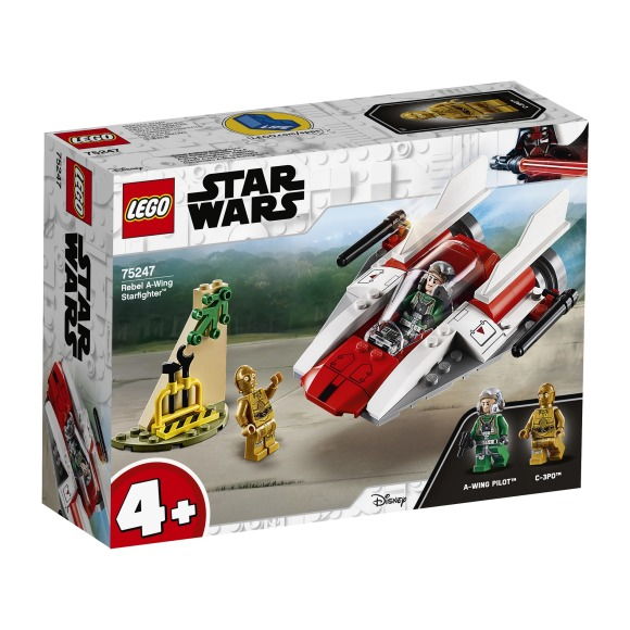 Chasseur stellaire rebelle a-wings Lego