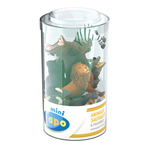 Coffret figurines animaux sauvages Papo