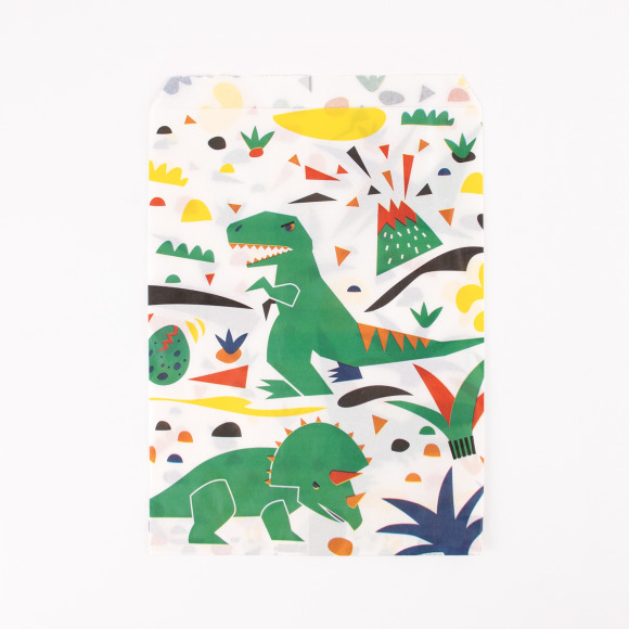 Lot de 10 pochettes dinosaures My Little Day