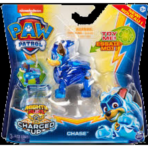 Figurine mighty pups charged up pat'patrouille Spin Master
