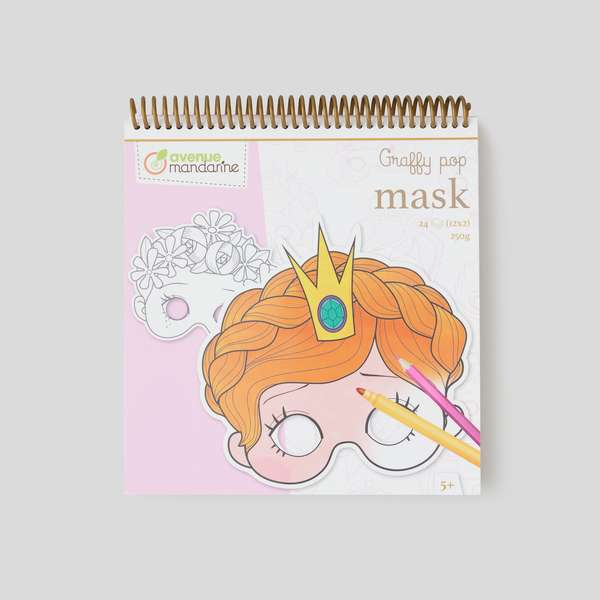 Graffy mask, fille Avenue Mandarine