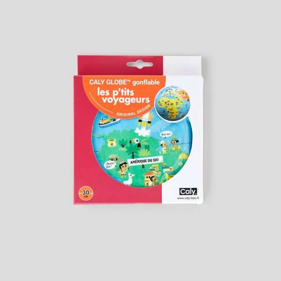 Globe gonflable les p'tits voyageurs Caly Toys