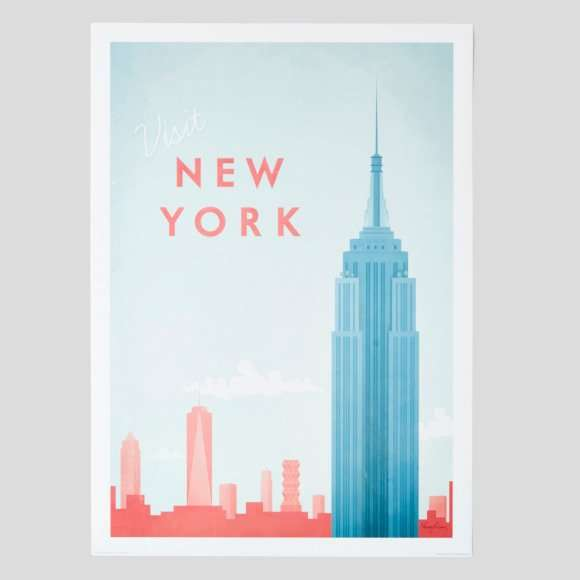 Poster new york, 50x70cm Wall Editions